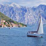 Аренда парусной яхты для путешествия вдоль берегов Черногории
